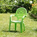 Der Garten-Plastikstuhl Resol-Kinder - Grün- (Satz von 4 Stühlen) von Resol bei Gartenmöbel von Du und Dein Garten