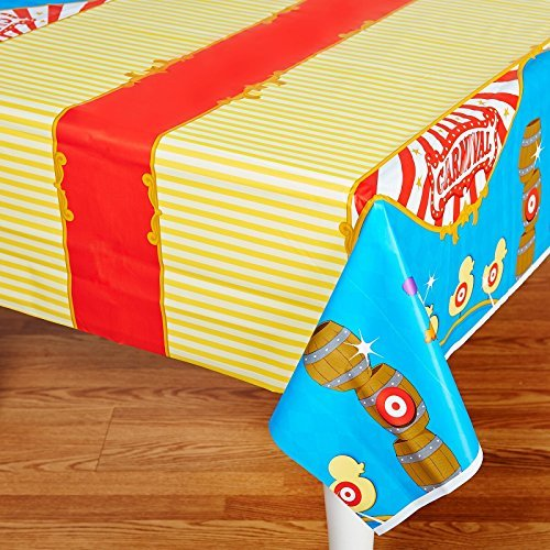 Supplies - Plastic Table Cover by BirthdayExpress ()
