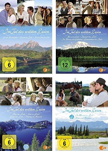 Im Tal der wilden Rosen - DVD 1-4 im Set - Deutsche Originalware [4 DVDs]