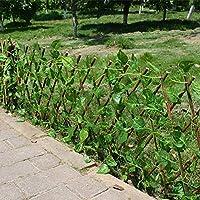 cineman Artificial Garden Plant Fence, Outdoor Indoor Use Garden Fence, UV Protected, Privacy Screen, Backyard Home Decor Greenery Walls