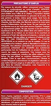 CATCH Insecticide Aérosol Tous Insectes Volants/Rampants 400 ml