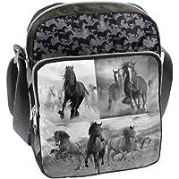 Ragusa-Trade Pferde Fan Mädchen Kinder - Handtasche Schultertasche Umhängetasche, verschiedene Größen