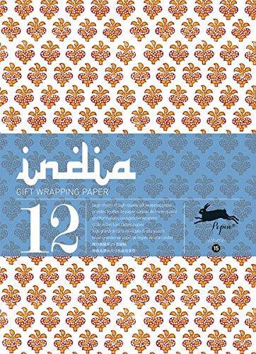 India, Vol. 15 : Grandes feuilles de papier cadeau de haute qualité par Pepin Van Roojen