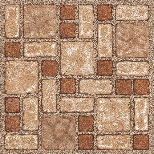 60x-mattonelle-di-pavimento-in-vinile-adesivo-cucina-bagno-adesivi-nuovo-marrone-mosaico-188