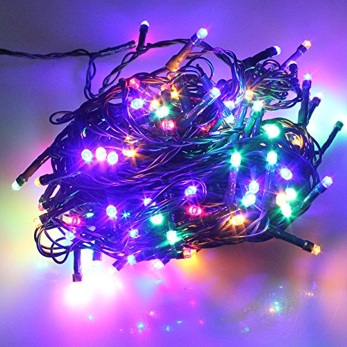 pmsr-100-200-300-400-500-led-string-fairy-lights-on-green-cable-with-8-light-effects-ideal-for-chris