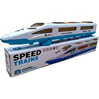 Manvik Enterprises® Bump N Go Emu Speed Train for Kids with 3D Lights & Music