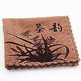 Bluelover Superfine Faser Geschirrtuch Super Wasseraufnahme Verdicken Geschirrtuch Kungfu Tee Mithelfer-Kaffee