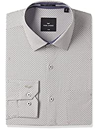 Park Avenue Men's Formal Shirt (8907663232910_PMSY09735-G3_Medium Grey_44)