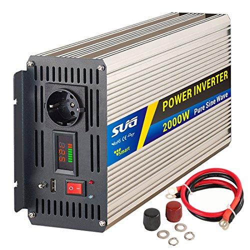 Sug 2000w Pico 4000w inversor 12v220vOndaPura
