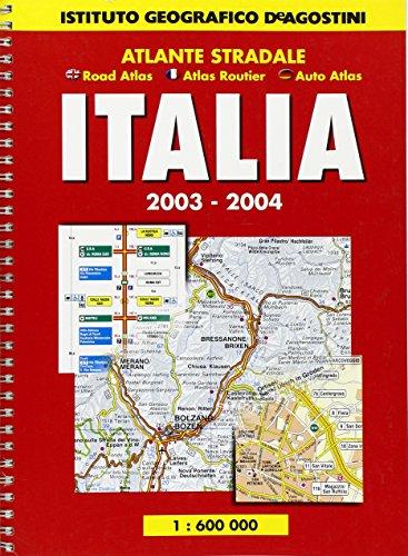 Atlante stradale Italia 1:600.000 (Atlanti stradali) por Instituto Geografico DeAgostini