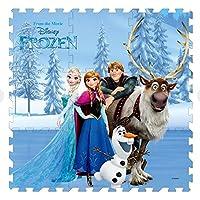 9pc Disney Frozen Soft Foam Play Mat Floor Puzzle (91 cm x 91 cm) - Peluches y Puzzles precios baratos