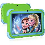 Kinder Tablet, Kindertablet Pad Lerntablet für Kids, 7-Zoll-HD-Touchscreen, Dual Camera, Android OS Bluetooth WiFi für…