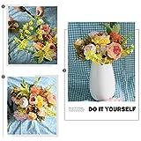 StarLifey Künstliche Blumen, Altmodische Pfingstrosen kunstblumen, aus Seide für Hochzeit Heim-Dekoration, 1 Stück hellrosa - 7