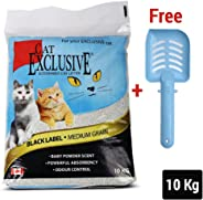 Intersand Heads Up for Tails Scoopable Cat Litter with Huft Scooper (10 Kg)
