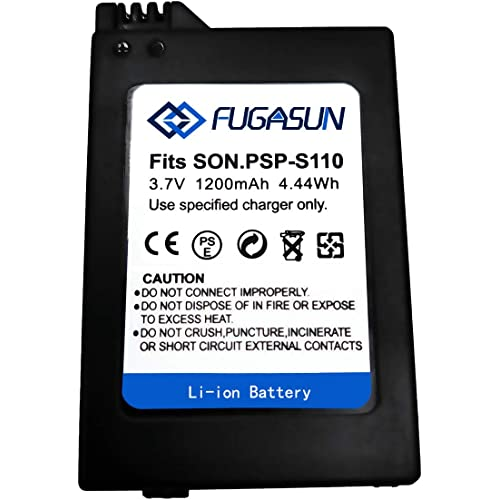 1 pz 1200 mAH PSP-S110 Batteria PSP S110 Batteria per S110 Battery for Sony Playstation PSP2000 PSP2001 PSP2003 PSP2004 PSP3000 PSP3001 PSP3003 PSP3004