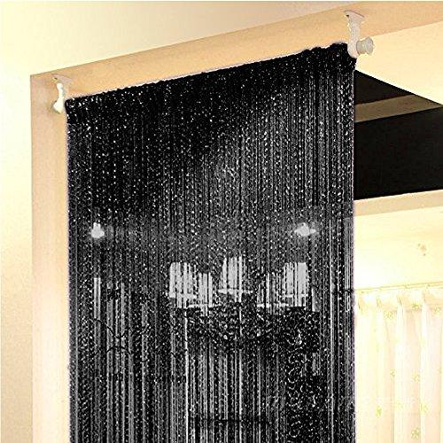 Fadengardine - Tunneldurchzug,Fadenvorhang perfekt für die verwendung als fliegengitter (Gr. 100cm x 200cm)