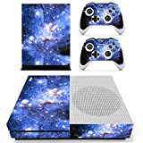 Stillshine Vinyl Skin Decal Full Body Sticker For Microsoft Xbox One S Console & 2 Controllers And Kinect 2.0 (Starry Blue)