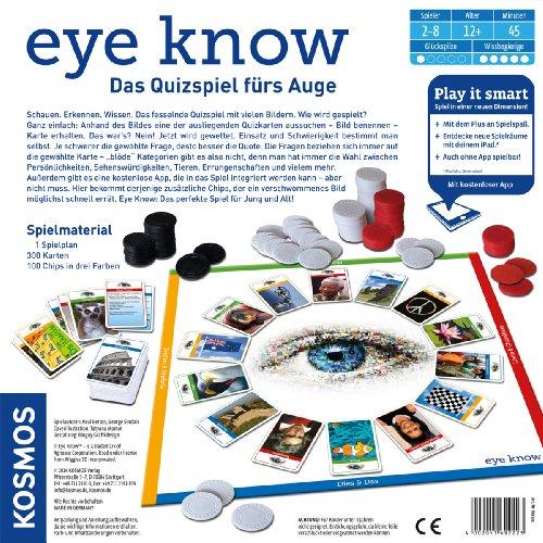 Kosmos 692223 - Eye Know - Play it smart, Familienspiel - 2