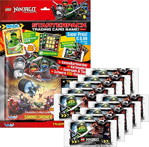 Lego Ninjago trading cards series III, 50 booster in display