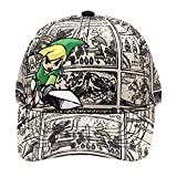 Zelda Unisex Baseball Cap Nintendo Legend of Woods Boys Curved Bill Grey, One Size