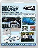 123repair Power Naht PU Kleber I Planen Reparaturset Flickzeug für Zelt, Schlauchboot, Luftmatratze, PKW und Vieles Mehr I Flickset Zubehör zur Versiegelung und Ausbesserung von Rissen und Löchern…