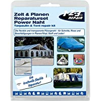 123Repair Kit de reparación Lona, toldo, láminas de plástico, Carpas de Lona, Tela Capuchas de plástico