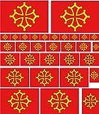 CROIX OCCITANE 25 stickers autocollants en vinyl et mélange de tailles