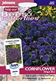 johnsons seeds - Pictorial Pack - Fiore - Fiordaliso Midget Blu - 150 Semi