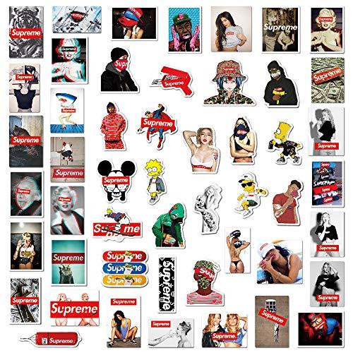 104 piezas Supreme Stickers Graffiti adhesivo vinilo