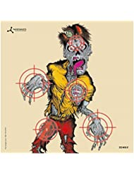 FlipTarget card air rifle targets - Zombie Colour - 6.75 inch - pk of 50