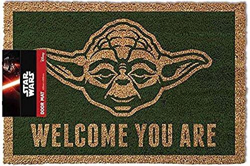 Star Wars GP85052 Yoda Fußmatte, mehrfarbig