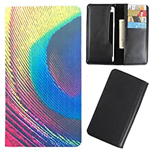 DooDa - For LG G Pro 2 PU Leather Designer Fashionable Fancy Case Cover Pouch With Card & Cash Slots & Smooth Inner Velvet