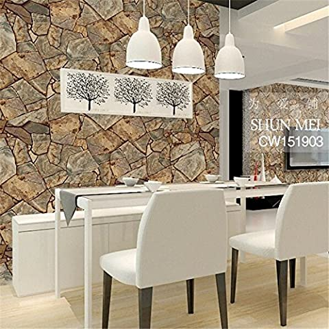 BTJC Clásicos rock arrecifes fondos ingeniería salón hotel restaurante panadería papel pintado del PVC impermeable , cw151904