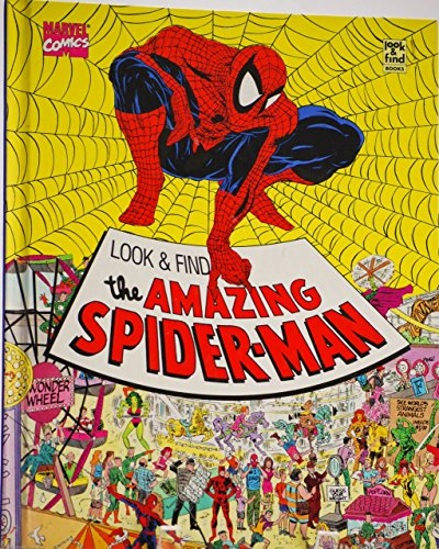 The Amazing Spider Man (Look and Find) by J. G. Jones (1-Jun-1992) Hardcover