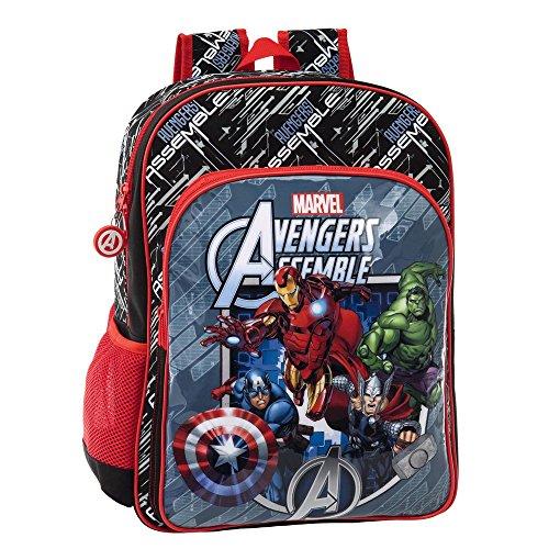 Marvel Zaino Adattabile al Carrello Avengers, Multicolore, 19.2 Litri, 40 cm