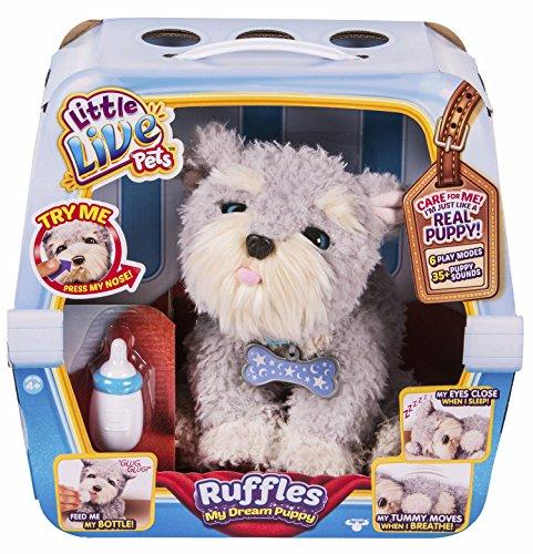 Little Live Pets   My Dream Puppy Ruffles  versión española (Famosa 700013957)