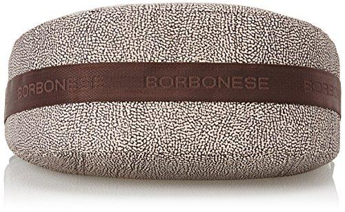 Borbonese 934757296, Borsa a Spalla Donna Marrone (Op Classico/marrone)