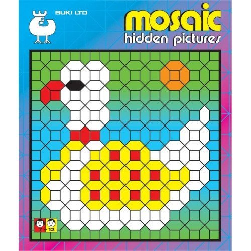 Buki Activity Book Mosaic Hidden Pictures 2 (B1150)