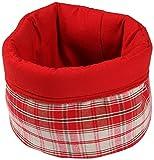 Best Price Cotton Bread Basket, Red