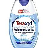 Teraxyl - Dentifrice Gel 2 en 1 - Dentifrice + Bain de bouche - Fraîcheur Menthe - Sensation fraîcheur - Formule au Fluor - T
