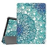Fintie Huawei Mediapad T3 10 Hülle Case - Ultra Dünn Superleicht Flip Schutzhülle mit Zwei Einstellbarem Standfunktion für Huawei MediaPad T3 (9,6 Zoll) 24,3 cm Tablet-PC, smaragdblau
