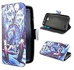 Nodelec® LG L90 Hülle Tasche Wallet C...