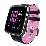Willful Smartwatch con Pulsómetro,Impermeable IP68 Reloj Inteligente con Cronómetro, Monitor de sueño,Podómetro...