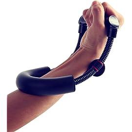 Farraige Wrist Strengthener Forearm Exerciser Hand Developer Arm Hand Grip Workout Strength Trainer Home Gym Workout…