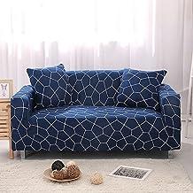 Cubiertas del sofá del ante,Sofá fundas del estiramiento,Protector de muebles,Espesar el sofá cubierta tiro para 1,2,3,4 cubiertas del amortiguador-Q asiento individual35-55 in