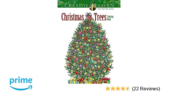 Creative Haven Christmas Trees Coloring Book Books Amazoncouk Barbara Lanza 0800759803903
