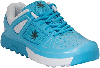 Zeven Crust Mesh Cricket Shoes, Men's (Blue)
