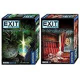 KOSMOS 2er Set 692858 694029 EXIT - Spiel Tote im Orient-Express + EXIT - Die vergessene Insel