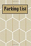 Packing List: Packing List To do List Checklist Manifesto Trip Planner Vacation Planning Adviser Itinerary Travel Diary Planner Organizer Budget Notes size 6*9 inches 100 Pages (Seamless 5): Volume 5