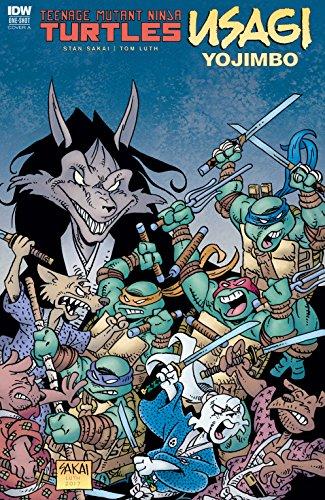 Teenage Mutant Ninja Turtles / Usagi Yojimbo (English Edition)